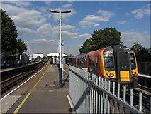 TQ2575 : Wandsworth Town station by Gareth James