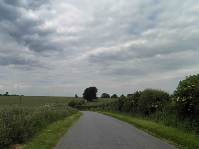 Lincolnshire Wolds near Kelstern