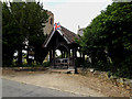 TM3973 : Lych Gate & entrance of St.Andrew's Church by Adrian Cable