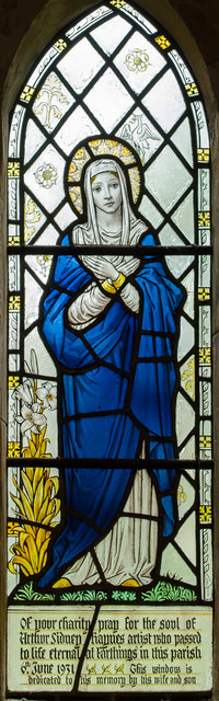 Stained Glass Window St Mary S Church 169 Julian P