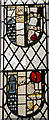 TQ8324 : Medieval Stained glass(reset) , St Mary's church, Northiam by Julian P Guffogg