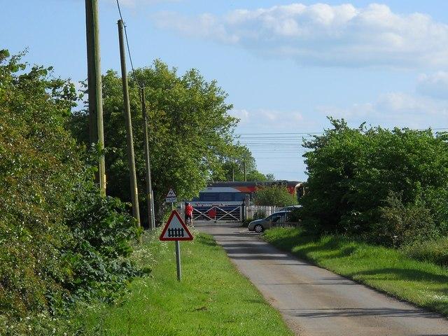 Woodcroft Crossing near Helpston