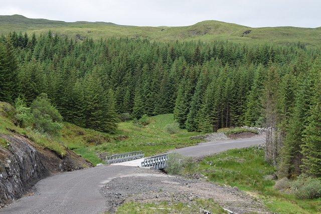 Bridge over Abhainn Fionain
