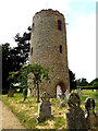 TM3973 : St. Andrew's Church Tower by Adrian Cable