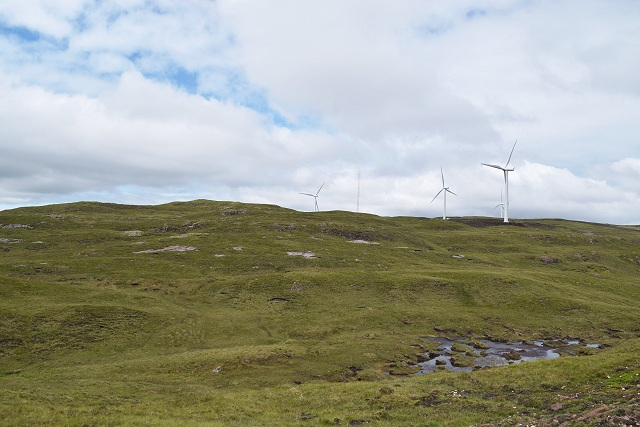 Cairn Dearg and Carraig Gheal wind farm