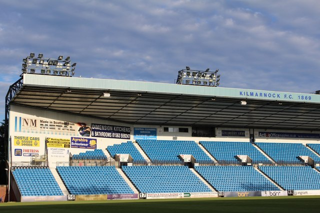 Image result for east stand kilmarnock