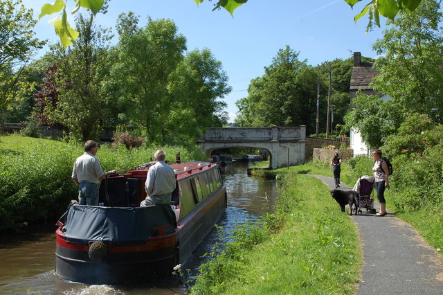 Peak Forest Canal at Furness Vale