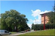 SJ9423 : Staffordshire University Entrance by Anthony Parkes