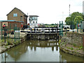 SE8311 : Stainforth & Keadby Canal - locks to River Trent by Chris Allen