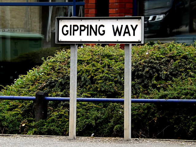 Gipping Way sign