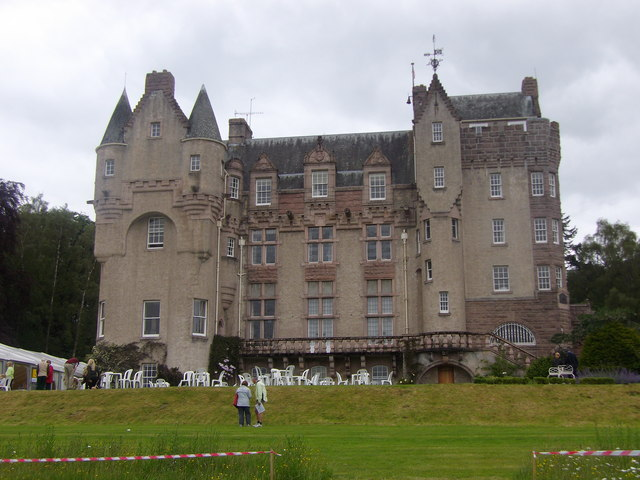 Kincardine Castle, Kincardine O'Neil (2014)