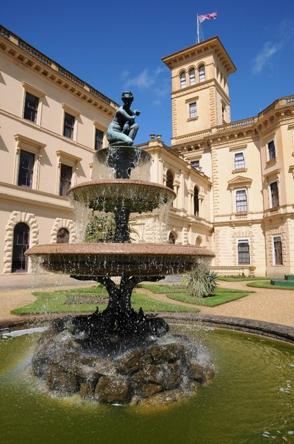 Fountain, Osborne House