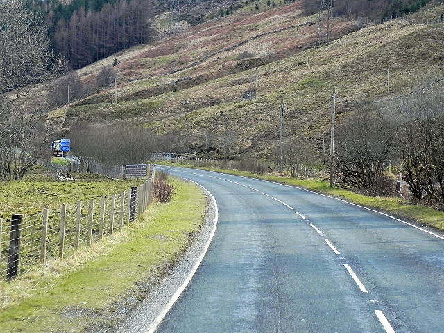 A85, East of Crianlarich