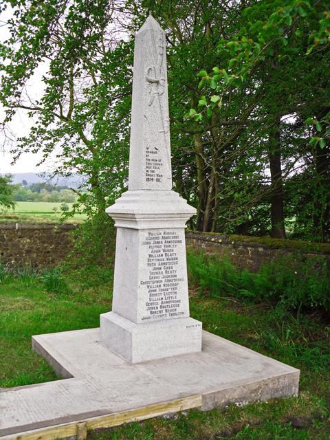 War Memorial, The Knowe, Bewcastle
