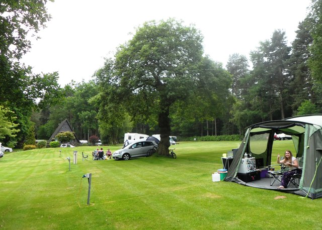 Cannock Chase Camping & Caravanning Club Site
