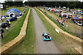 SJ5451 : The track at Cholmondeley Pageant of Power 2014 by Jeff Buck