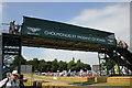 SJ5451 : Footbridge at Cholmondeley Pageant of Power by Jeff Buck