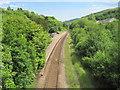 ST0091 : Dinas Rhondda railway station, Rhondda Cynon Taf by Nigel Thompson