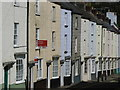 ST5394 : Colourful houses in Chepstow by John Winder