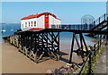 SN1300 : Disused lifeboat station, Tenby by Jaggery