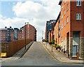 SJ8498 : Jutland Street by Gerald England
