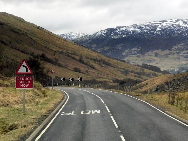 A85, Glen Ogle