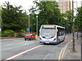 SJ8594 : South Manchester Buses by Bob Harvey