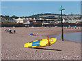 SX9472 : Lifeguard board by Alan Hunt