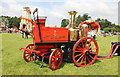 SJ5451 : Vintage Fire Engine at Cholmondeley by Jeff Buck