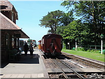 SS6846 : Lynton & Barnstaple Railway: Woody Bay Station by Martin Bodman