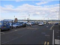 D1241 : Car park, Ballycastle Harbour by Richard Webb