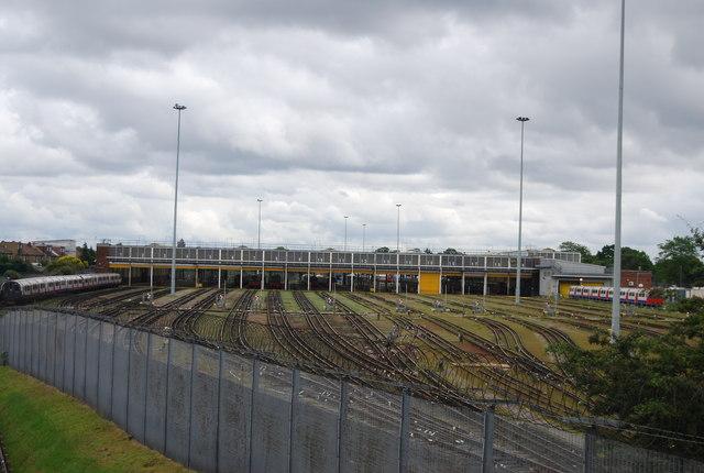 Northfields Depot by N Chadwick