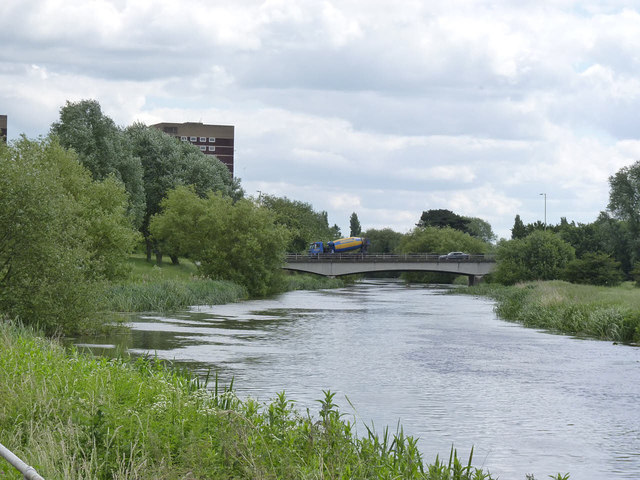 River Tame, old course