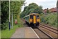 SJ3057 : Arriva Trains Wales Class 150, 150250, Caergwrle railway station by El Pollock