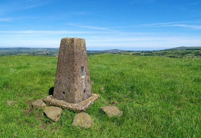 Lyles Hill Triangulation Pillar