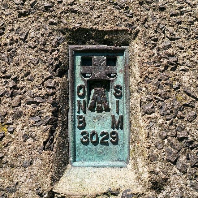 Flush Bracket, Lyles Hill Triangulation Pillar