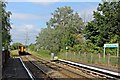 SJ3169 : Arriva Trains Wales Class 150, 150250, Hawarden Bridge railway station by El Pollock