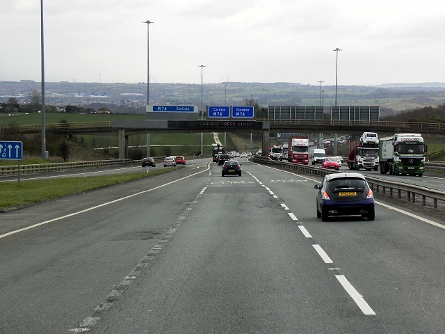 M73 South of Junction 2
