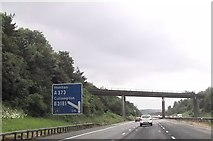 ST0209 : One mile from junction 28 M5 south by John Firth