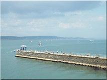 SY6878 : Weymouth South Pier by Malc McDonald