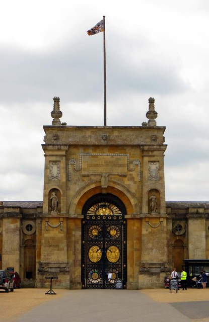 The East Gate of Blenheim Palace