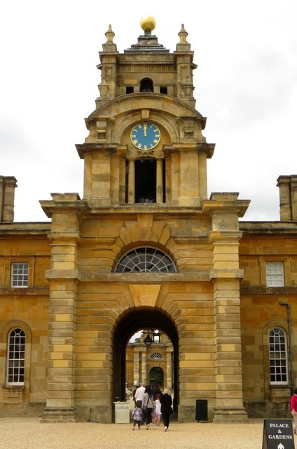 Clock tower and archway from the East Courtyard