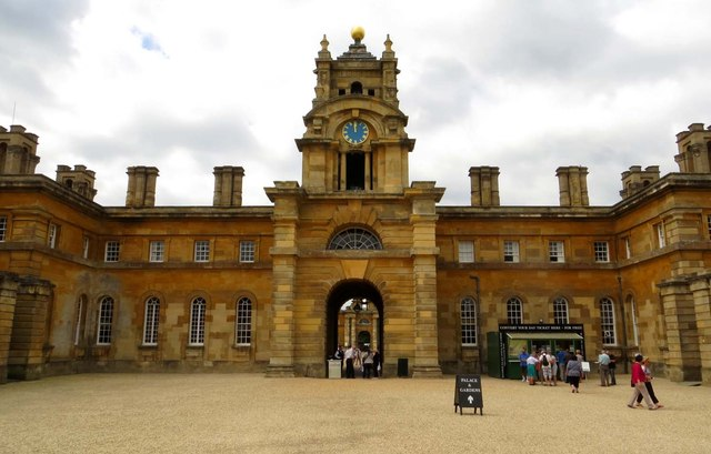 The East Courtyard in Blenheim Palace