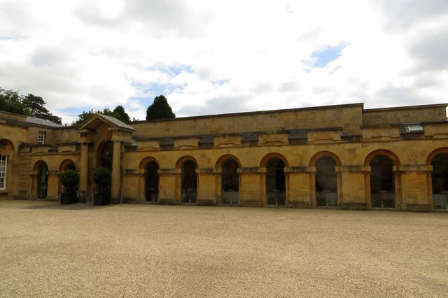 The Orangery in Blenheim Palace