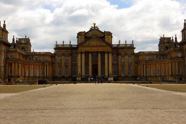 Blenheim Palace from the Great Court