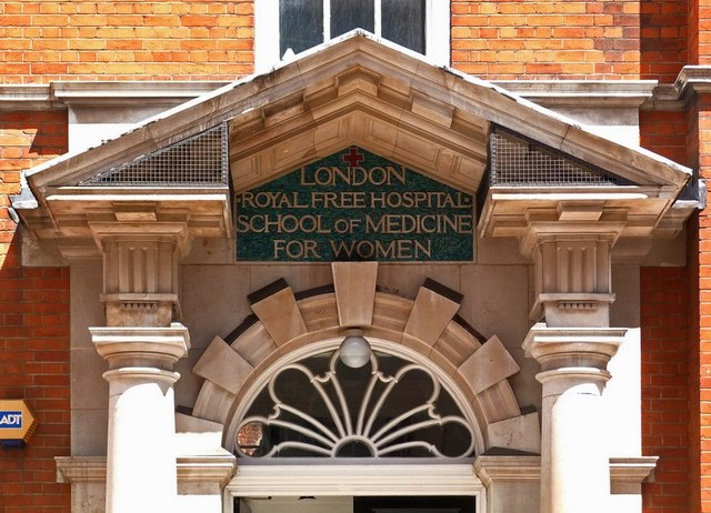 Decorative features, Hunter Street Health Centre