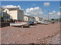 SX9372 : Boats on the strand by Alan Hunt