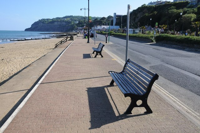 Seafront at Shanklin