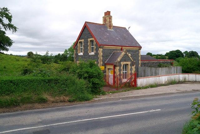 Pumping station near Ballynahinch