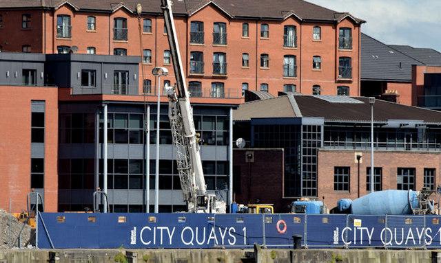 CQ1, City Quays site, Belfast - June 2014(2)